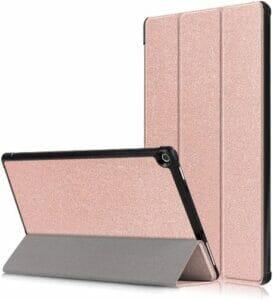 Gylint Fire HD 10 Case (7th & 9th Generation), Rose Gold