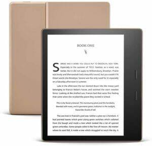 the official amazon kindle oasis reader